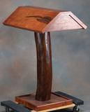 Custom made, solid mesquite Saddle Stand, quality made, measures 30