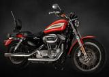 Clean, 2005 Harley Davidson Sportster 1200 Roadster, showing 11,106 miles,