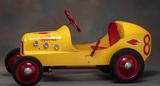 Fully restored, vintage Pedal Car marked
