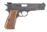 High condition Belgium Browning, Model HP, Semi-Automatic Pistol, .9 MM cal