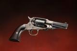 Antique, Cased Remington, New Model, SN 14002, Factory Conversion Revolver.