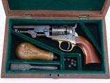 . Antique, fine condition, Cased Colt, Model 1849, Revolver, SN 291198. Thi