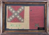 Framed Flag labeled