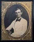 Large format Print of Abraham Lincoln taken from Ambrotype done May 7, 1858