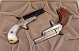 Cased Pair of Colt, Single Shot Deringers titled