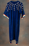 Vintage Plains and Cowry Shell Dance Dress with matching Moccasins, circa 1
