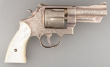 Scarce Smith & Wesson, Pre-Model 27, Double Action Revolver, fully engraved