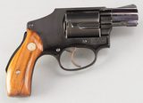 Smith & Wesson, Airweight, Revolver, .38 SPL caliber, SN L3884, blue finish