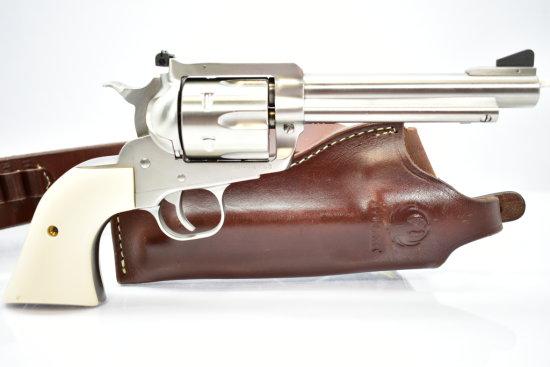Ruger, New Model Super Blackhawk, 44 Mag cal., Revolver W/ Holster, Grips And Case