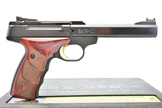 Browning, Buck Mark Plus UDX, 22 LR cal., Semi-Auto W/ Case
