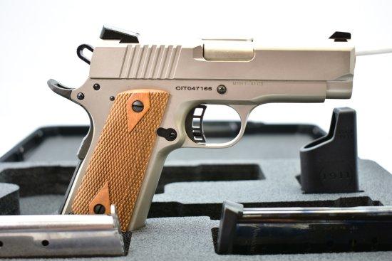 Rock Island, M1911-A1 CS Tactical, 45 cal., Semi-Auto In Case W/ Accessories