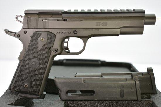 Rock Island, M1911-A1 XT Tactical, 22 LR cal., Semi-Auto In Case W/ Accessories