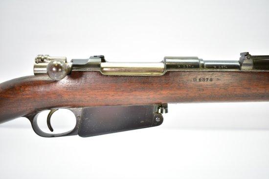 Argentine, Model 1891 Mauser, 7.65mm cal., Bolt-Action