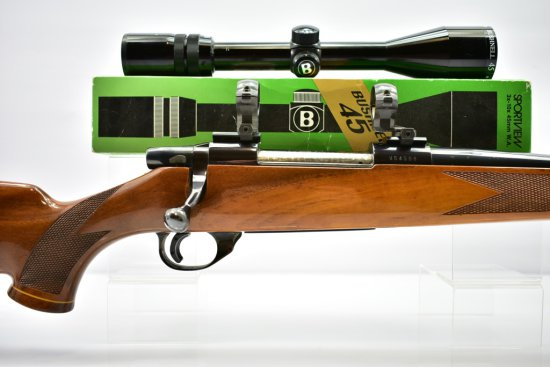 Circa 1970's Weatherby, Vanguard Deluxe, 25-06 cal., Bolt-Action W/ Scope