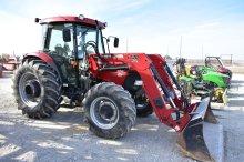 2009 Case IH 95 Tractor w/ Loader