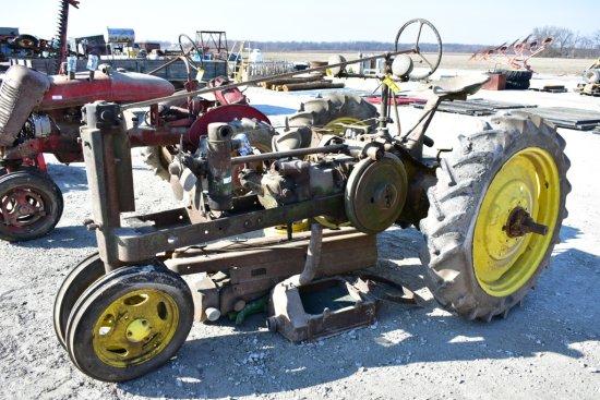 John Deere Antique Parts Tractor