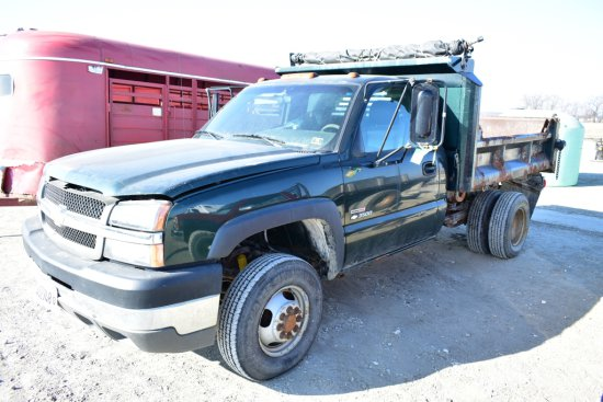 2003 Chevrolet 3500 Duramax Dump Truck