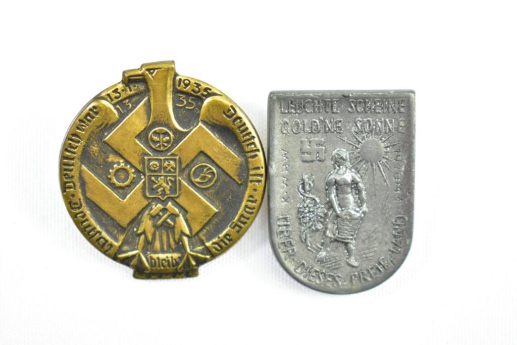 Lot: WWII German Nazi Pins & Metals | Proxibid Auctions