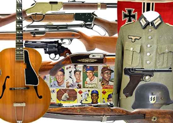 Firearms, Militaria & Americana Auction