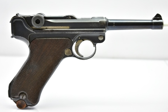 1918 DWM WWI German Luger, 9mm Cal., Semi-Auto