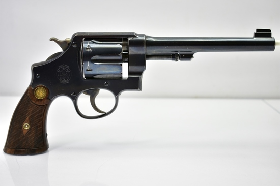 1915 British WWI S&W, 455 Hand Ejector MKII, 2nd Model, 38 Spl Cal., Revolver
