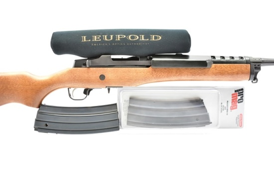 Ruger, Mini-14, 223 Rem (5.56 Nato) Cal., Semi-Auto W/ 2 Extra Magazines (Leupold Scope)