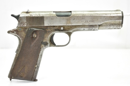 "1918 Colt, Model 1911 Military ""U.S. Army"", 45 Cal., Semi-Auto"