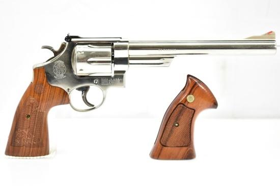 1979 Smith & Wesson, Model 29-2 Nickle, 44 Mag Cal., Revolver (Original & Custom Grips)