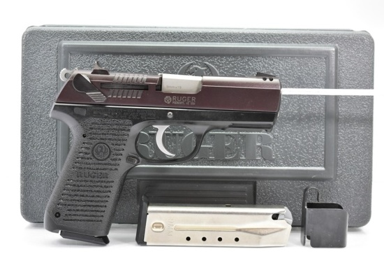 Ruger, Model P95, 9mm Luger Cal., Semi-Auto In Case W/ Accessories (Unfired)