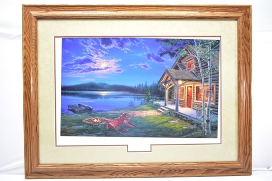 """The Perfect Getaway"" Signed Print By Darrell Busch W/ COA"