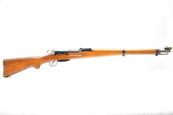 1941 Swiss Schmidt Rubin, Model K31, 7.5×55mm Cal., Straight Pull Bolt-Action