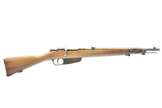 1938 WWII Italian, Gardone M38 Carbine, 6.5 Carcano Cal., Bolt-Action