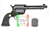 NEW Chiappa, Model 1873 SAA, 22 LR & Mag Cal., Revolver In Box