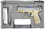NEW Walther, P-22 Military, 22 LR Cal., Semi-Auto In Hardcase
