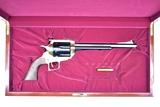 HUGE!! Super Six Classic, Bison Bull, 45/70 Govt. Cal., Revolver In Presentation Case.