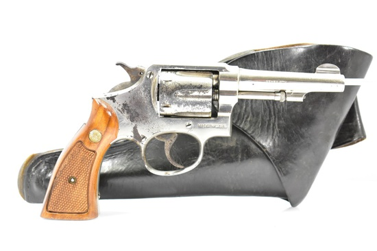 1920's Smith & Wesson, Model Of 1905 (Pre-10), 32-20 Win Cal., Revolver W/ Holster, SN - 115103