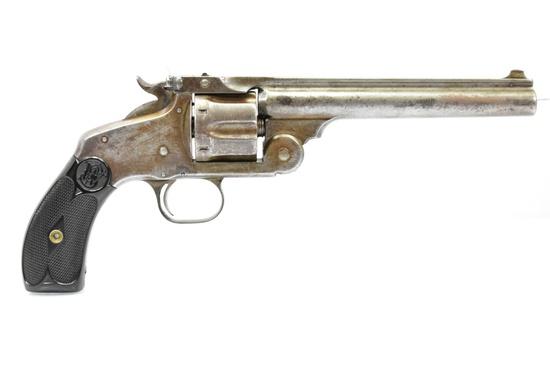 Circa 1900 Smith & Wesson, Model 3 Top Break, 32 S&W Cal., Revolver, SN - 2623