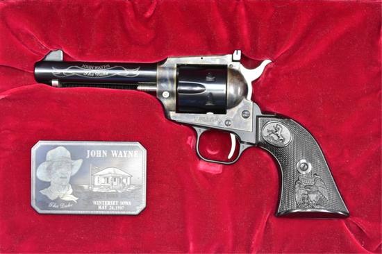 1983 Cased Colt, John Wayne Commemorative, 22 LR Cal., Revolver, SN - G209510