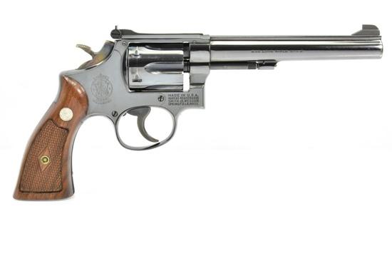 1958 Smith & Wesson, K-22 Masterpiece, 22 LR Cal., Revolver, SN - K326265