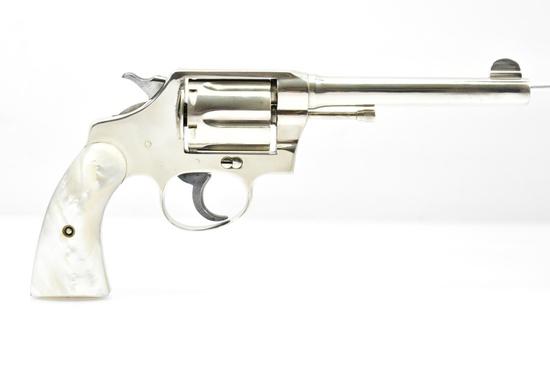 1919 Colt, Police Positive Special (Nickel), 38 Spl Cal., Revolver, SN - 169578