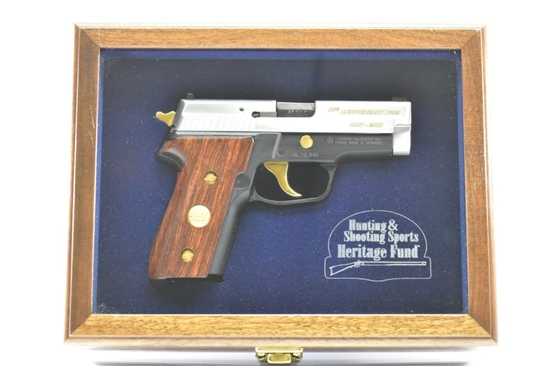 Cased Sig Arms, P229 10th Anniversary 1 of 1000, 40 S&W Cal., Semi-Auto, SN - HE0058
