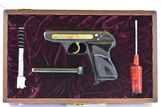 1971 Cased H&R, Heckler & Koch HK4, Gold Edition, 380 ACP & 22 LR Cal., SN - HR00817 (1 Of 2000)