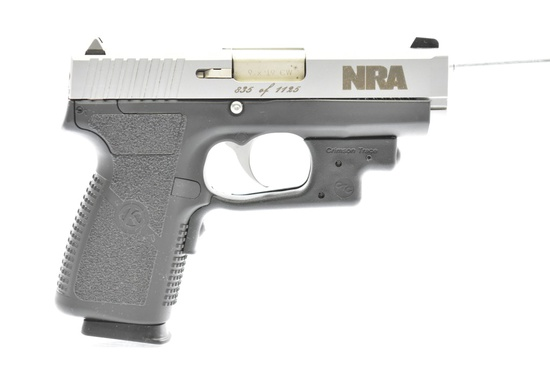 "Kahr, Model CW9 ""NRA Special Edition"", 9mm Luger Cal., Semi-Auto, SN - 437-012168 (835 Of 1125)"