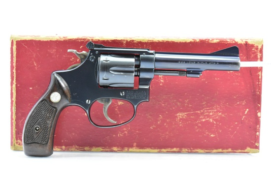 "1953 Smith & Wesson, 22/32 ""Kit Gun"" (Pre-34), 22 LR Cal., In Box (First Year Production), SN - 270"