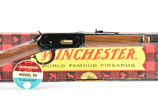 """1968 Winchester, Mod. 94 """"IL Sesquicentennial"""" 30-30 Win. Cal., W/ Box & Paperwork. SN - IS8689"""