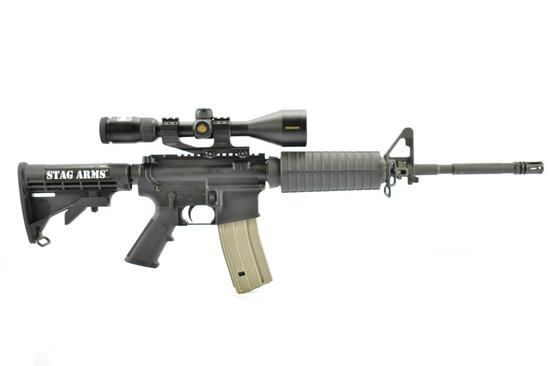 Stag Arms, Model 1L (Left-Handed) AR-15, 5.56 NATO Cal., Semi Auto, W/ Hardcase, SN - 279149