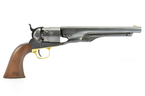 1862 Colt, Model 1860 Army, 44 Cal., Revolver, SN - 80154 (Numbers Matching)