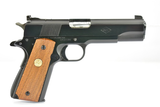 "1980 Colt, 1911 ""Ace"" Service Model, 22 LR Cal., Semi-Auto, W/ Extra Magazine, SN - SM32136"