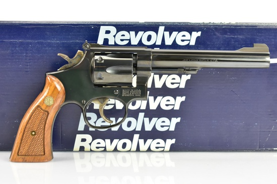 1989 Smith & Wesson, Model 17-6, 22 LR Cal., Revolver, W/ Box & Paperwork, SN - BBJ7168