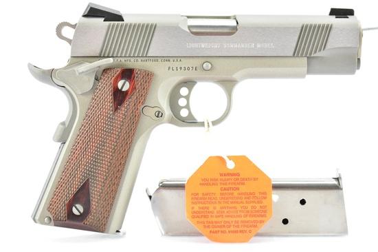 Colt, 1911 Lightweight Commander, 45 ACP Cal., Semi-Auto, W/ Hardcase, SN - FL19307E
